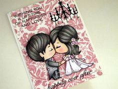Cute card made with TGF stamp