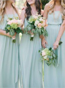 robe-menthe pour mariage