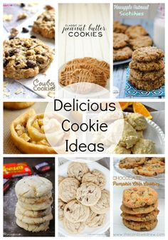 So many delicious cookie recipes all in one place!