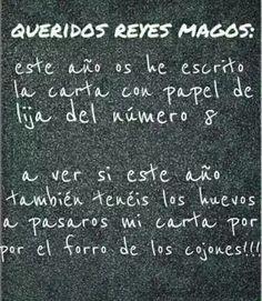 Carta reyes magos #compartirvideos #videosdivertidos
