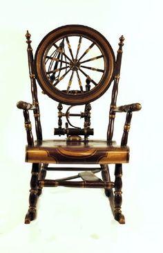 Antique Victorian Bench Made Rocker Rocking Chair
