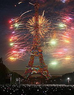 Bastille Day, was there in 89. It was incredible!