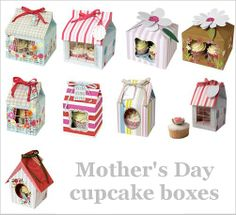 Mothers Day Cupcakes, Cupcake Boxes, Holiday Decor, Inspiration, Design, Home Decor, Biblical Inspiration, Homemade Home Decor