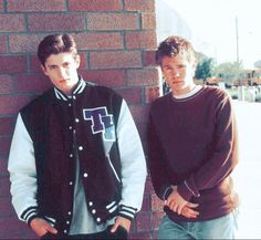 Young James Lafferty and Chad Michael Murray