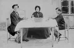 Ludwig II a tavola con la sua famiglia