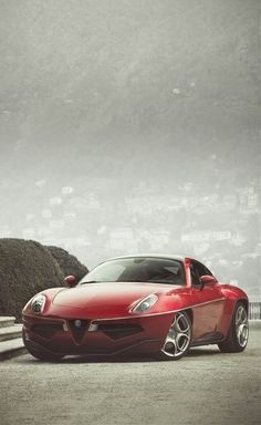Alfa Roméo Disco Volante The most beautiful car ever.