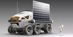 Toyota and The Japan Aerospace Exploration Agency (JAXA) have teamed up to study mobility in space, with a fuel cell electric vehicle which could be used Toyota, Bridgestone Tires, Back To The Moon, Most Popular Cars, Space Travel, Car Brands, Space Exploration, Out Of This World, Solar Panels