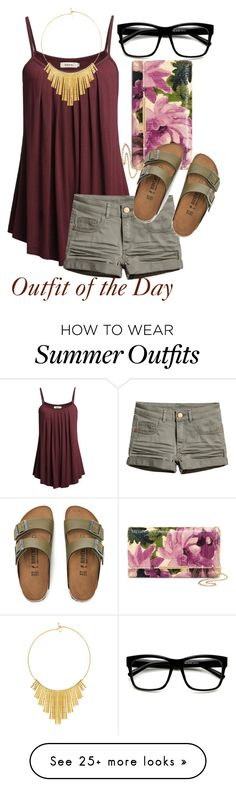 """""""Outfit of the Day"""" by mindlessmess on Polyvore featuring Natasha, Birkenstock and BERRICLE"""
