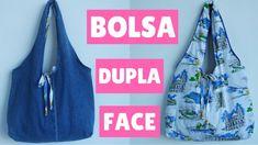 DIY BOLSA DUPLA FACE COM REAPROVEITAMENTO DE JEANS -  SUELLEN REDESIGN
