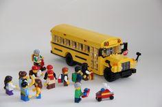 MOC of the Week: LEGO School Bus - BrickExtra