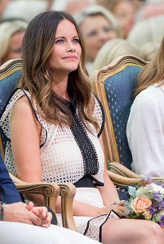 Royal Family Around the World: Swedish Royal Family attends a concert at the 39th birthday celebrations for Crown Princess Victoria on July 14, 2016 in Oland, Sweden.