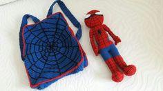 Çantamızın başka açıdan görüntüsü 😊 Soru ve siparişleriniz için lütfen mesaj atın 😊💕 #cartoon #amigurumi #crochet #yarn #cute #sweet #sevimli #çocuk #organik #oyuncak #oyunvakti #oyun #organikoyuncak ##cartoon #amigurumi #crochet #yarn #bebek #marvel #geek #spiderman
