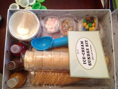 DIY ice cream kit