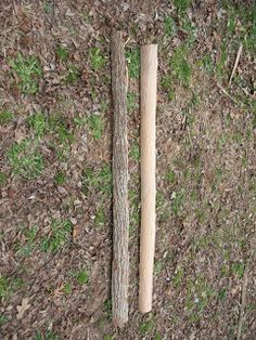 Now that you have a cured log to work with, it's time to split it up into staves or the rough pieces from which you can make a bow. But bef...