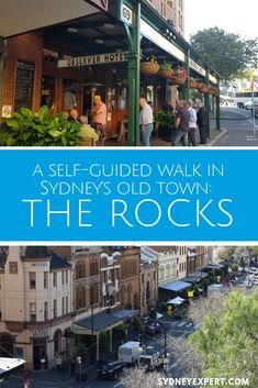 The Rocks is historical Sydney at its best. This Rocks self-guided walk will help you discover Sydney's colonial history in just a couple of hours. Brisbane, Melbourne, Sydney Australia, Western Australia, Australia Travel, Australia Honeymoon, Visit Australia, Victoria Australia, Amazing Destinations