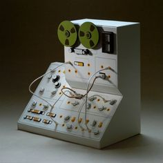 "tiny models of vintage synthesizers called ""Analogue Miniatures"" by artist Dan McPharlin."