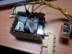 A DIY navigation device for the visually impaired. #Atmel #Arduino #DIY #Makers #MakerMovement #1Sheeld #ATmega328