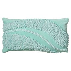 Rizzy Home Applique Waves Accent Pillow