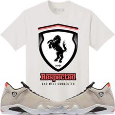 4162223a940f2c Original Rufnek T-Shirt Jordan 14 Sand Desert Sneaker Tees Shirt -  RESEPECTED Jordan Sweat