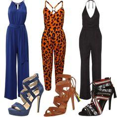 Die schönsten Jumpsuits! #fashion #mode #kleider #look #outfit #style #stylaholic #sexy #dress