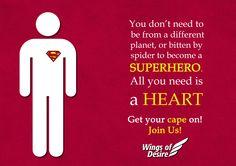 www.WODIndia.org #SaveTheWorld #WingsOfDesire #BringChange #JoinUs