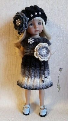 "outfit for dolls 13"" littie darling Dianna Effner"