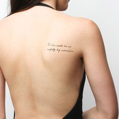Neverland quotes temporary tattoos http://tattify.com/product/neverland/