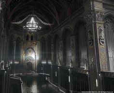 ArtStation - Final Fantasy XV | Kingsglaive | Audience chamber, Paul Chadeisson