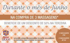 Promoção de Massagens - Junho 2015