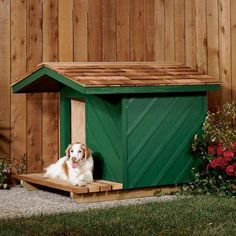 dog house with shade porch plans #diy | free wood working plans