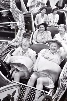 This photo encourages you to embrace your life. These women are in their last years now. Let's all be present.