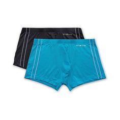 Evolve -Men's 2Pack Trunks ($13) ❤ liked on Polyvore featuring men's fashion, men's clothing, men's underwear, charcoal heather, mens underwear trunks, mens swim trunks, mens trunks and mens low rise trunks