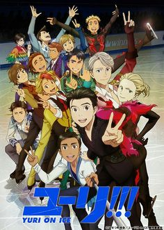 New pic. of Yuri!!! On ice!!!!!