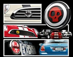 Badges for the Mini Cooper at gobadges.com