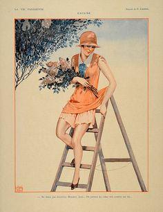 Georges Léonnec  (1881 – 1940). La Vie Parisienne, 1928. [Pinned 24-i-2015]