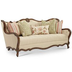 sofa couch victorian tufted tapestry tufted camel back sofa in red see. Black Bedroom Furniture Sets. Home Design Ideas