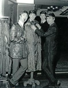 John Lennon, Paul McCartney, Richard Starkey, and George Harrison (1963)