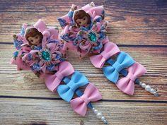 Headband Crafts, Baby Headbands, Hair Barrettes, Hair Clips, Black Flower Crown, Princess Hair Bows, Cheap Ribbon, Flower Backdrop, Diy Hair Bows