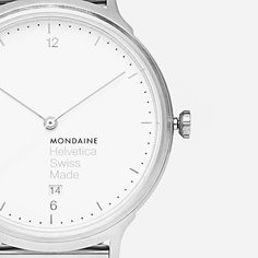 Helvetica No1 by Mondaine
