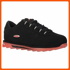 Lugz Men's Changeover Ice Fashion Sneaker, Black/Mars Red/Clear, 7.5 D