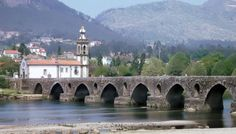 Ponte de Lima, Portugal  Ponte de Lima is reckoned to be one of the most beautiful small towns in Portugal. It is set  on the south bank of the Lima River facing a magnificent Romano  bridge with low arches. Situated on the Rua da Lima north of Braga in the North of Portugal.