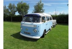 """VW Camper van, Fantastic example of the famous """"Hippie Van"""", can you see the potential? Camper Caravan, Camper Van, Famous Hippies, West Midlands, Caravans, Motorhome, Classic Cars, Starcraft Campers, Travel Trailers"""