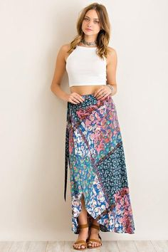 South Coast Maxi Wrap Skirt