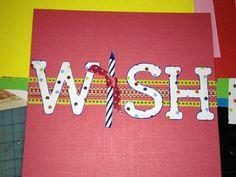 Easy birthday card...& super cute!