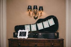 Image result for old suitcase wedding card holder