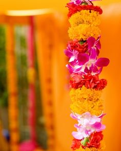 mandap flowers #mandap #indian #southasian #wedding #decor #flowers see more inspiration @ http://www.ModernRani.com