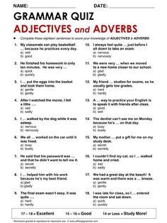Grammar Quiz
