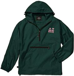 Alpha Phi Omega Pack-N-Go Pullover. This Alpha Phi Omega Fraternity Pack-N-Go Pullover is A best-seller Conveniently packs into its pouch pocket Wind & water-resistant Softex Polyester. Pullover design accented with black zippers. Alpha Phi Omega, Sigma Gamma Rho, Alpha Kappa Alpha, Alpha Pack, Delta Zeta, Chi Omega, Pullover Rain Jacket, Pullover Sweaters, Men Sweater
