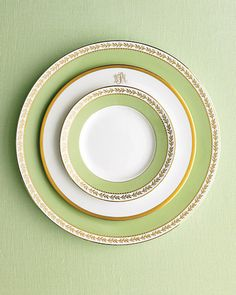 mixed china - martha stewart for wedgewood and pickard monogram