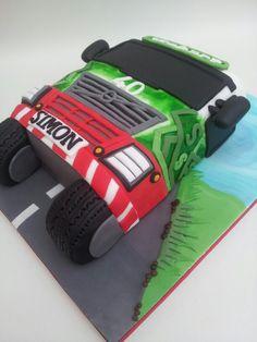 Eddie Stobart birthday cake #cake #truck #Eddiestobart